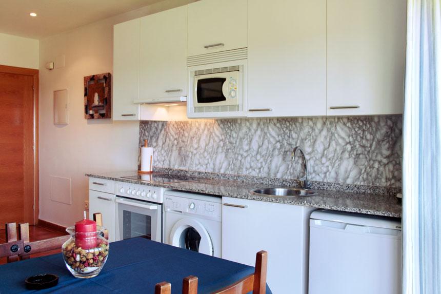 Apartamento Herbosa. Cocina
