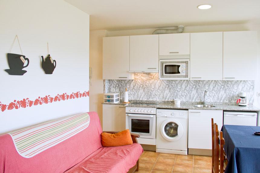 Apartamento Topineres. Cocina